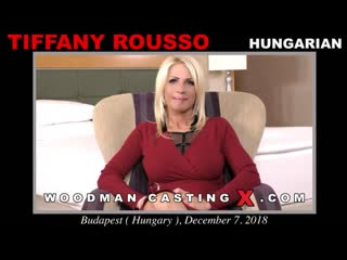Woodmancastingx - tiffany rousso (интервью) [вудман, кастинг, минет, сосет, порно, на камеру, секс, hd]