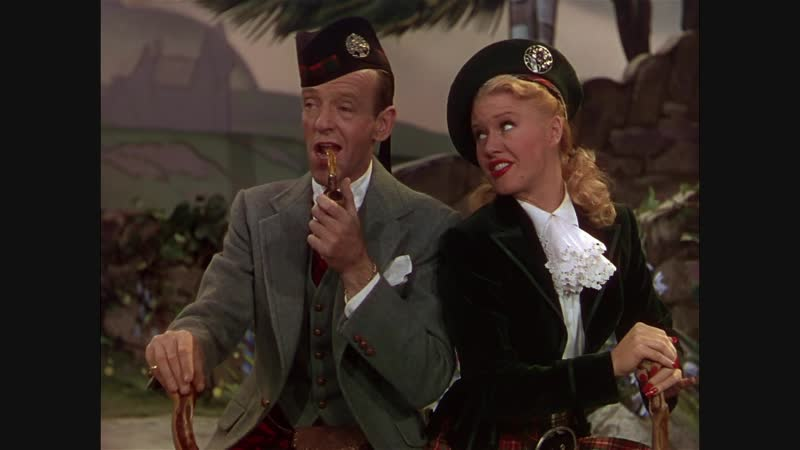 Ginger Rogers and Fred Astaire sing and dance My One and Only Highland Fling from The Barkleys of Brodway (1949)