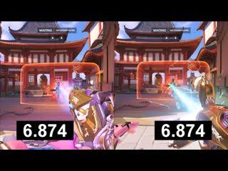 Full energy zarya or full girth beam symmetra comparing their shield breaking potential