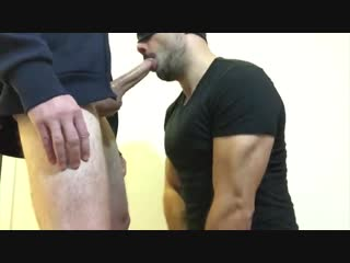 Two cumshots two big dicks two straight guys