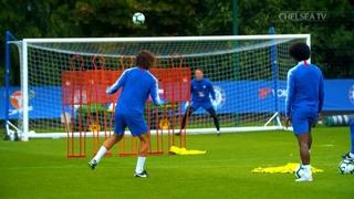 "Chelsea FC on Instagram: ""Practice makes 👌  👏💥 #CFC #Chelsea"""