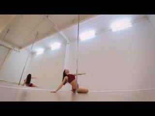 Angelina gelios - exotic pole dance choreography