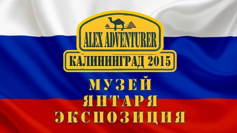 Калининград 🇷🇺 Музей янтаря Экспозиция 💯Алекс Авантюрист