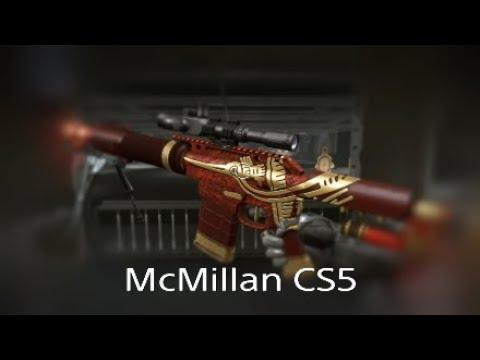 Обзор Макмилан за короны Warface PS4 McMillan CS5 обзор болтовки за короны