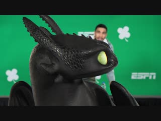 Toothless interupts espn press conference