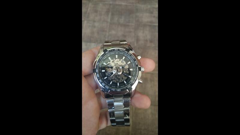 Чоловічий механічний годинник Winner Timmy
