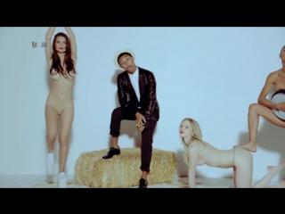 Blurred Lines - Robin Thicke (Unrated Version) Full HD  ню легкая эротика голые модель фигура спорт sport секс