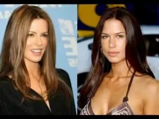 Kate Beckinsale vs. Rhona Mitra