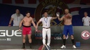 Mas-Wrestling on the Arnold Fitness EXPO Main Stage