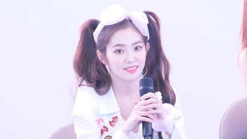 180818 레드벨벳 Red Velvet 아이린 IRENE 팬사인회 마무리 토크타임 4K 직캠 @ 고양 스타필드 by Spinel