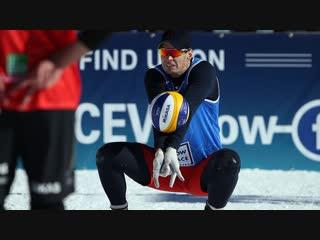 Снежный волейбол. Московский этап Евротура. Основной этап. 3 корт