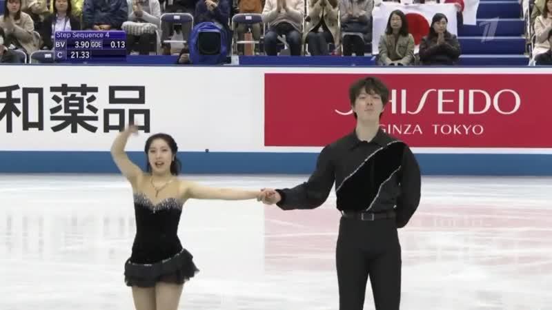 Riku MIURA_Shoya ICHIHASHI SP World Team Trophy 2019