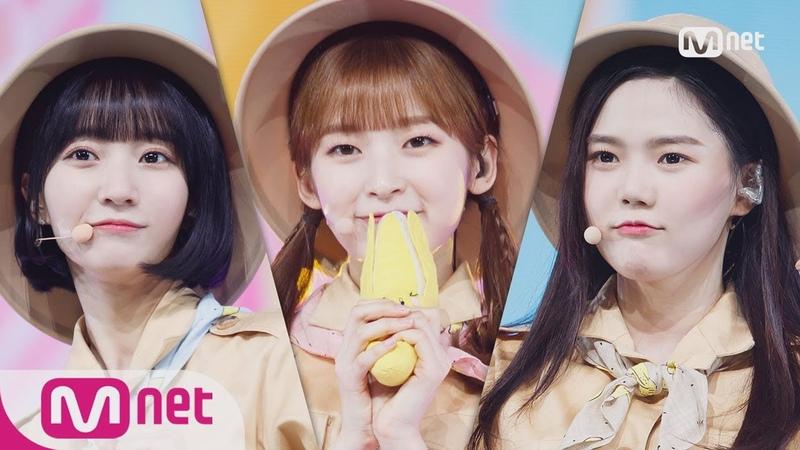 [OH MY GIRL BANHANA - Banana allergy monkey] Comeback Stage   M COUNTDOWN 180405 EP.565