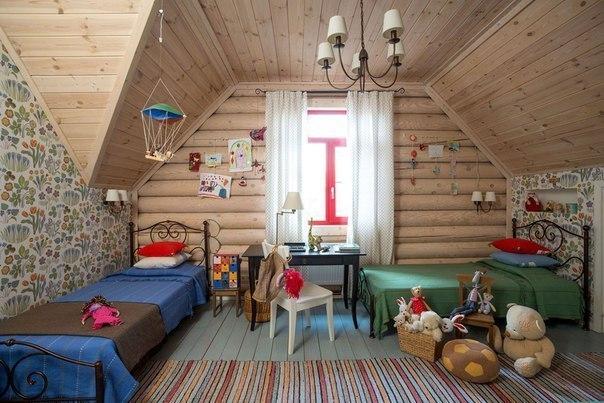 Дизайн бревенчатого дома: русские избы набирают популярность