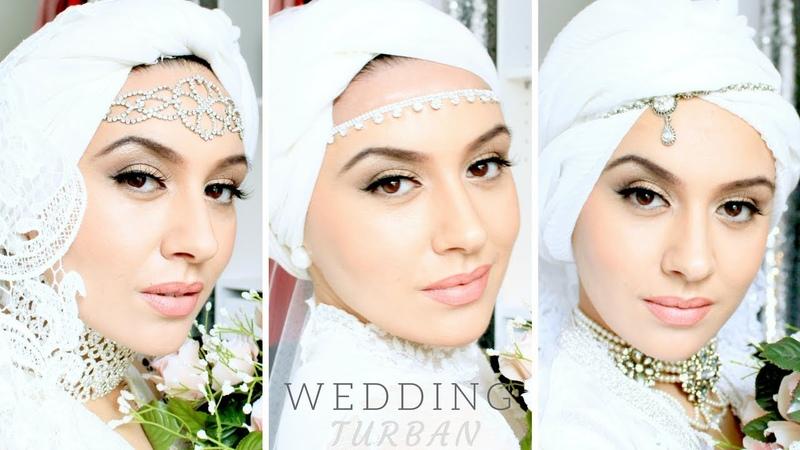 3 idées de turbans de Mariée