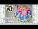 Bordado Mexicano paso a paso ♥ Elefante ♥ Mándala N°4 ♥ Parte 1 ♥ PRINCIPIANTES ♥
