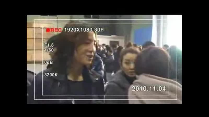 2010.11.08 02 고사 현장! 김재욱 직접 촬영한 영상 공개