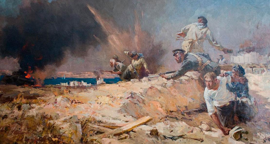 В бою за Севастополь