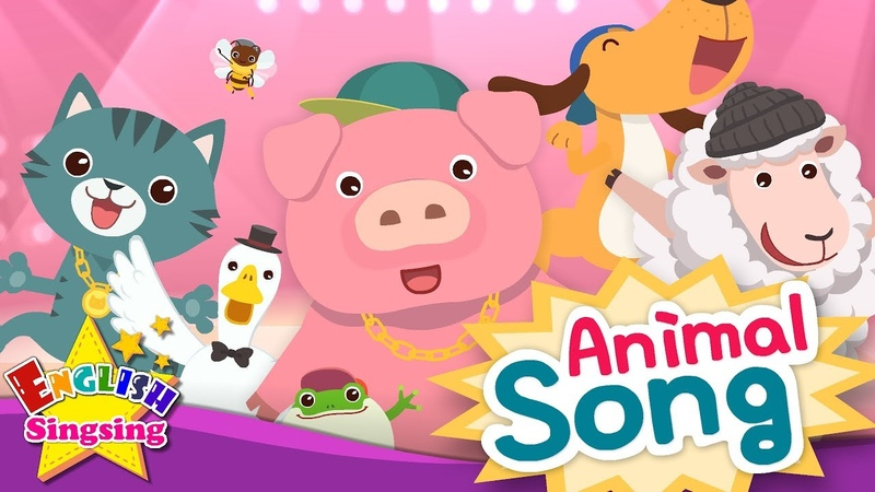 Animal Song - Educational Children Song - Learning English for Kids