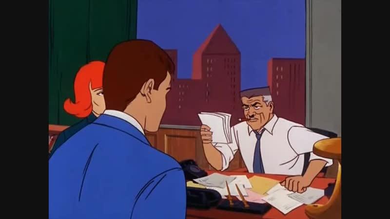 Сезон 01 Серия 02: Где ползает Ящерица. Электро - Человек-молния | Настоящий Человек-Паук (1967 – 1970) / Spider-Man