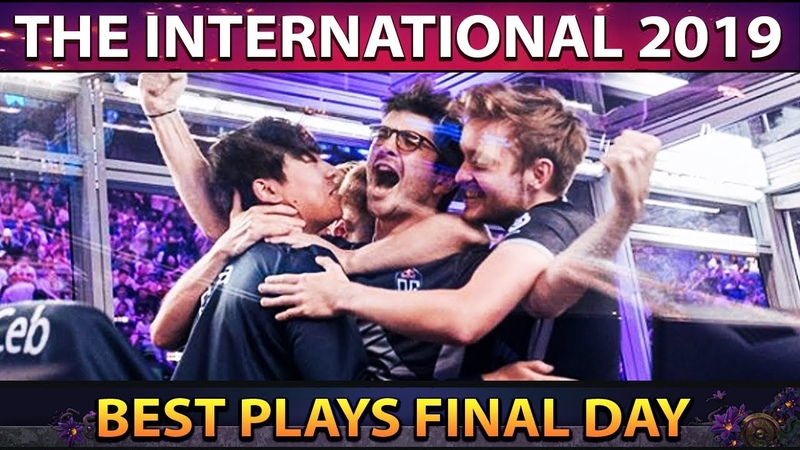 The International 2019 - TI9 Best Plays Main Event - Final Day