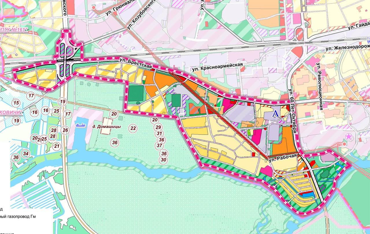 Жителям Пинска предлагают обсудить детальный план нового Юго-западного микрорайона города