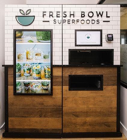 Торговый автомат по продаже салатов