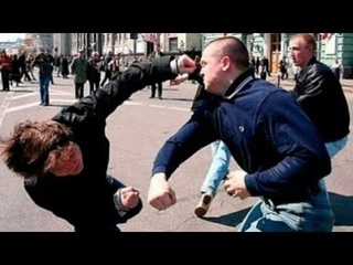 Уличные драки самые крутые нокауты ( подборка ) #4