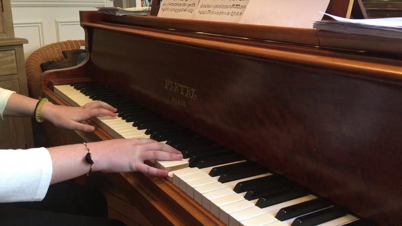 Chiisana Te no Hira Piano cover (Clannad) cours de piano Манга и аниме на пианино