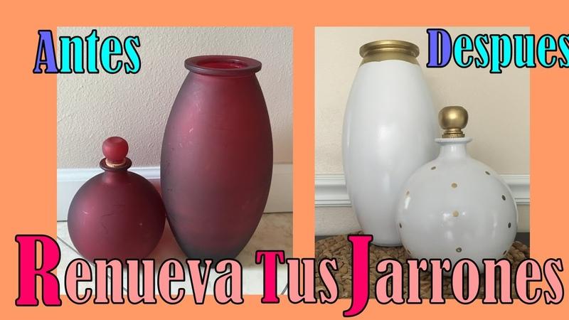 Renueva tus Jarrones o Floreros!☼▲▼