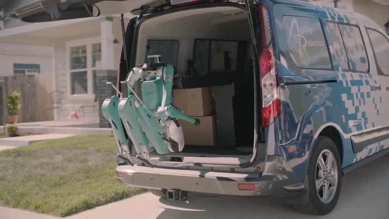 Gility Robotics и Ford испытают двуногих роботов для доставки посылок до двери