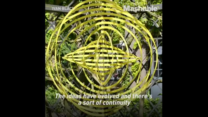 Круто! Иван Черный - скульптор, который сочетает искусство с математикой, чтобы создавать уникальные, механизмы.