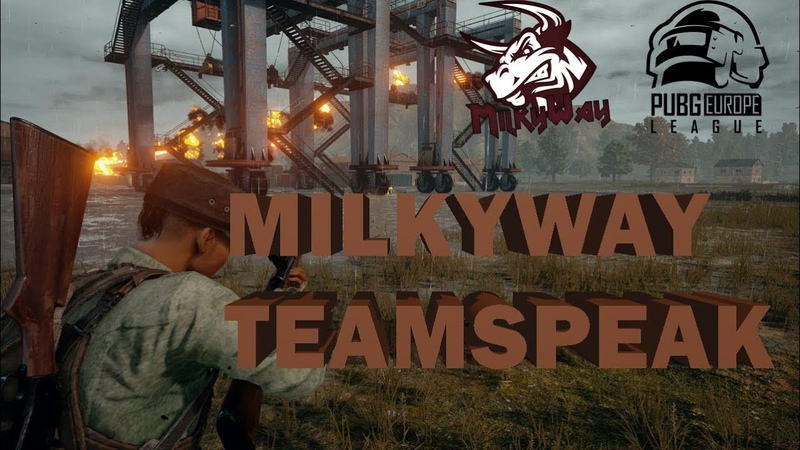 MilkyWay on PELC TEAMSPEAK 1