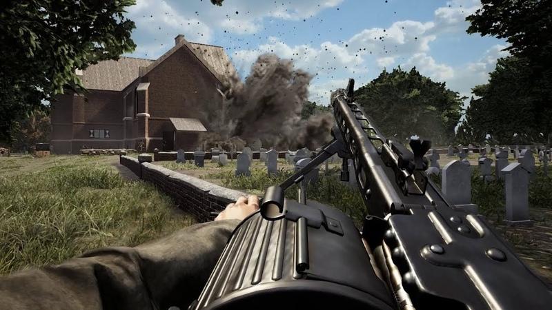 Post Scriptum MG42 Church Hill Defense GER Comms