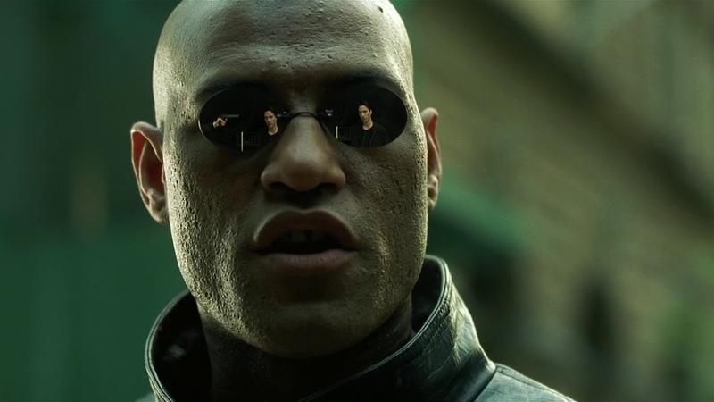 Матрица / The Matrix (1999) - Девушка в красном (5/11)