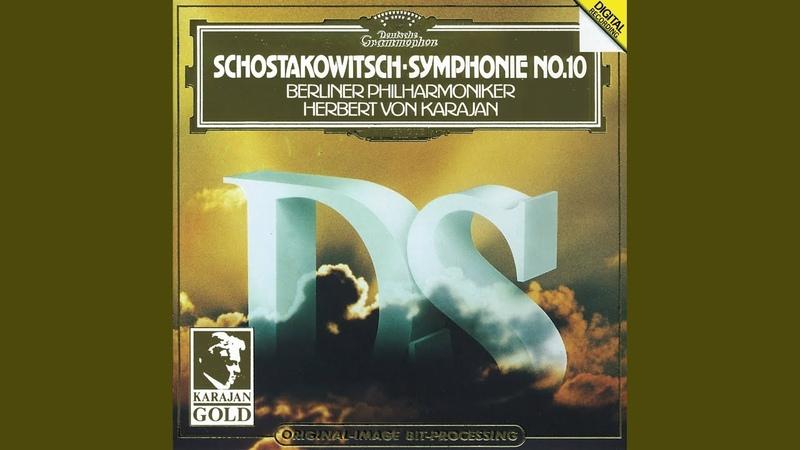 Shostakovich Symphony No 10 In E Minor Op 93 3 Allegretto