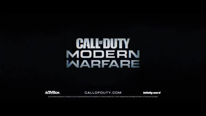 Релизный трейлер ПК-версии Modern Warfare от NVIDIA