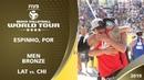 Men's Bronze Medal: LAT   4* Espinho (POR) - 2019 FIVB Beach Volleyball World Tour