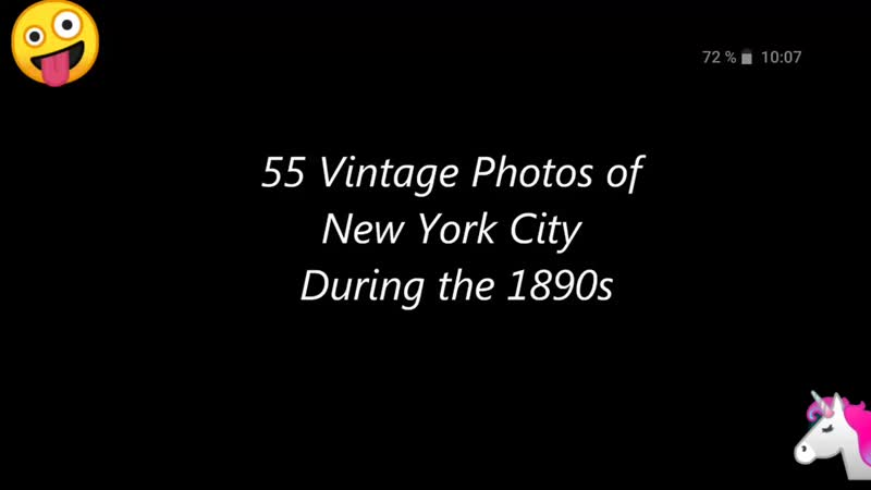 55 Vintage Photos of New York City During the 1890s