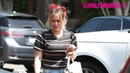 Hilary Duff Arrives To 901 Salon On Melrose Place In West Hollywood 6 24 19