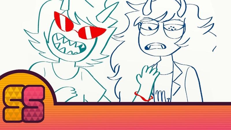 Terezi's Silly Bands Homestuck comic dub SleepySouls