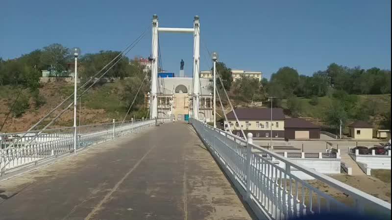 Евразийской мост, Это визитная карточка Оренбурга. Его уникальность заключается в том, что вы можете быть в двух местах одноврем