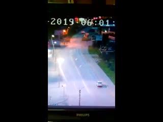 Страшное ДТП произошло 31 августа на Зеленом клине в Бийске