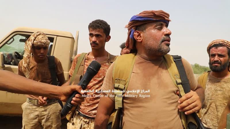 Наступление хадистов в районе Харад Хаджа