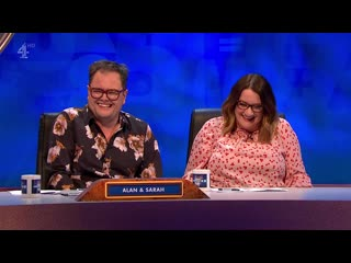 8 out of 10 cats does countdown 17x04 rob beckett, alan carr, sarah millican, nick mohammed