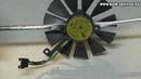 Снятие чистка и смазка вентилятора видеокарты ASUS ROG Strix RX 480 580