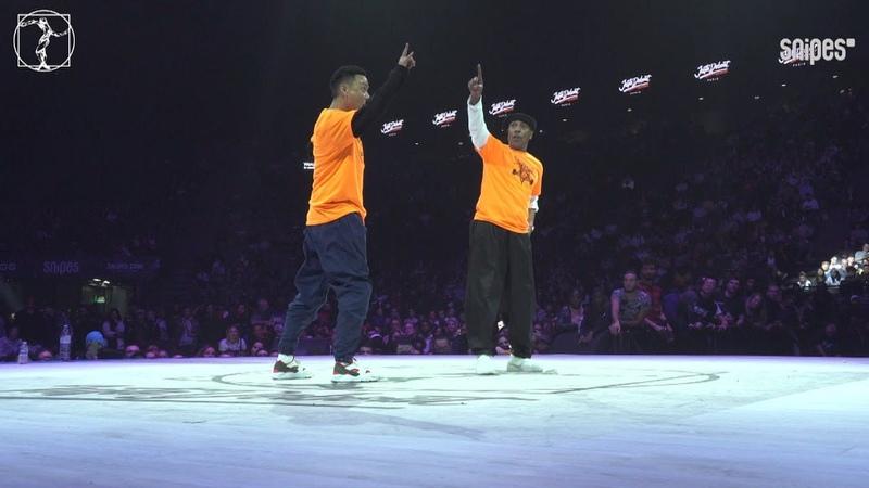 Locking final - Juste Debout 2019 - Cio Masato vs Tony Gogo Locking Jay