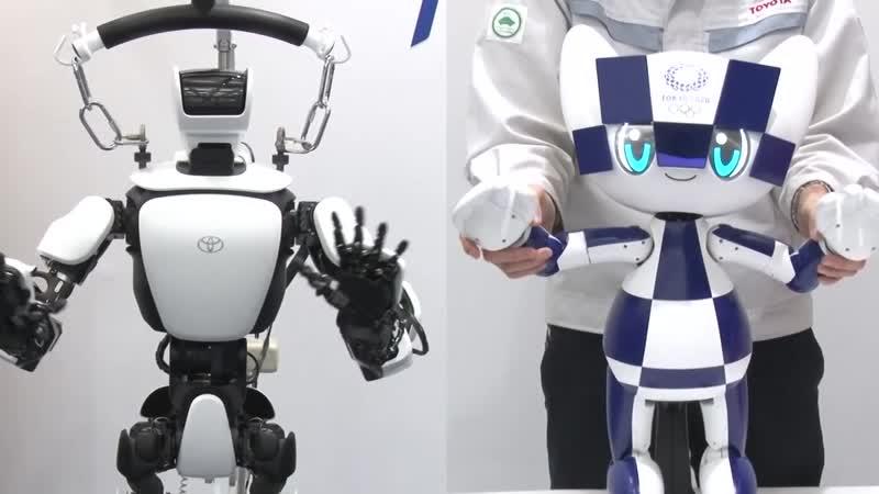 Robot T-HR3 Tokyo 2020 Mascot