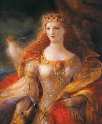 Алиенора Аквитанская - самая желанная невеста XII века, ставшая хозяйкой двух королевств, изображение №1