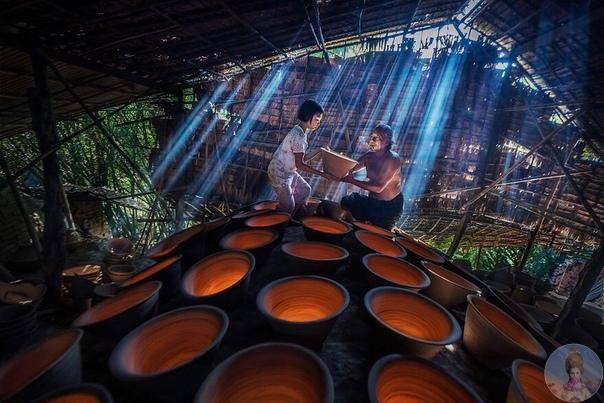 Потрясающие фото с игрой света